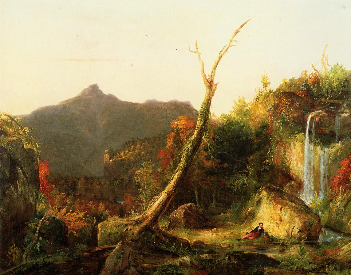 Autumn Landscape (aka Mount Chocorua) 1827-1828 | Thomas Cole | Oil Painting