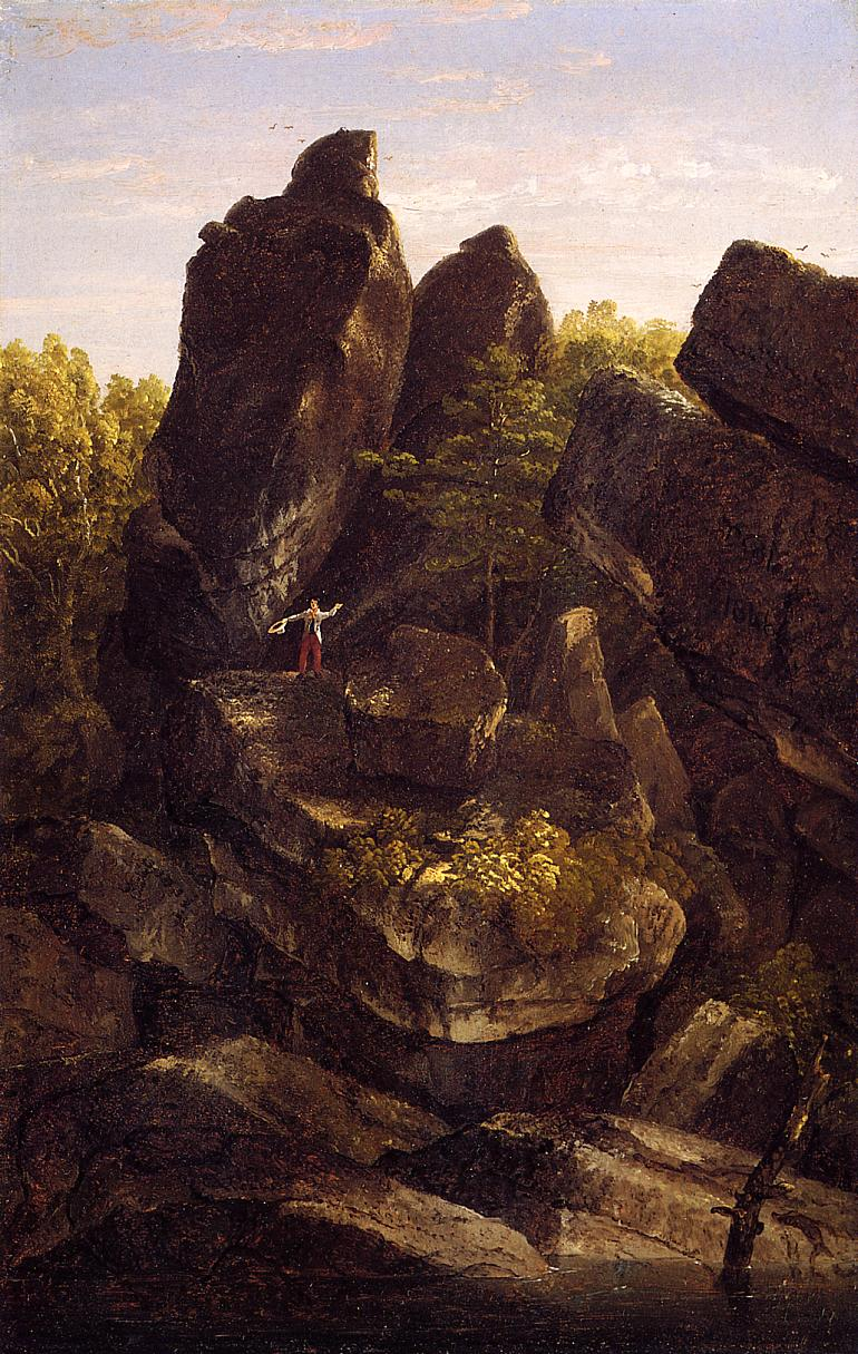A Rocky Glen 1846 | Thomas Cole | Oil Painting