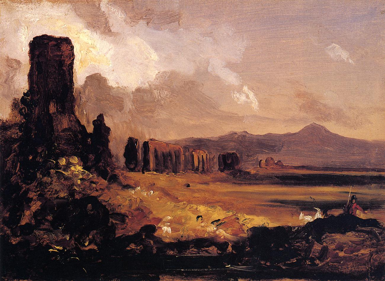 Campagna di Roma 1832 | Thomas Cole | Oil Painting