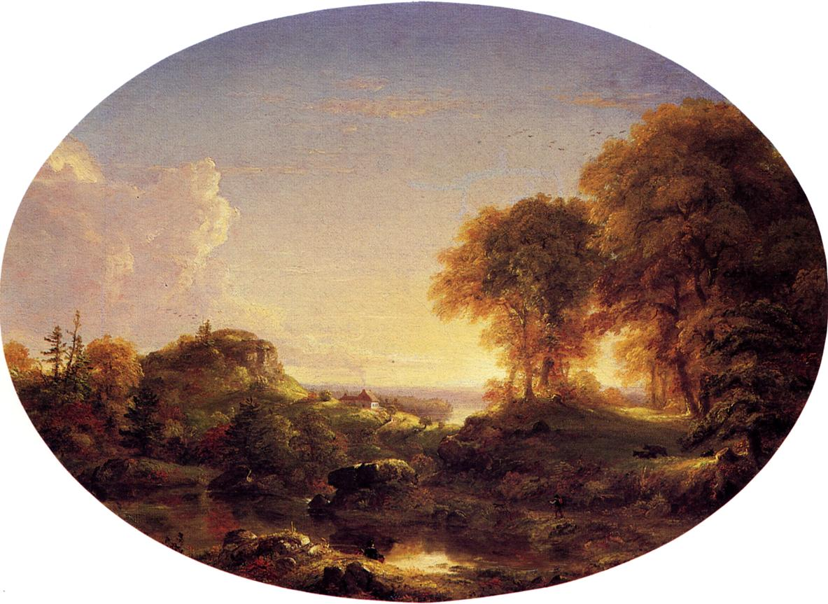 Catskill Landscape 1846 | Thomas Cole | Oil Painting