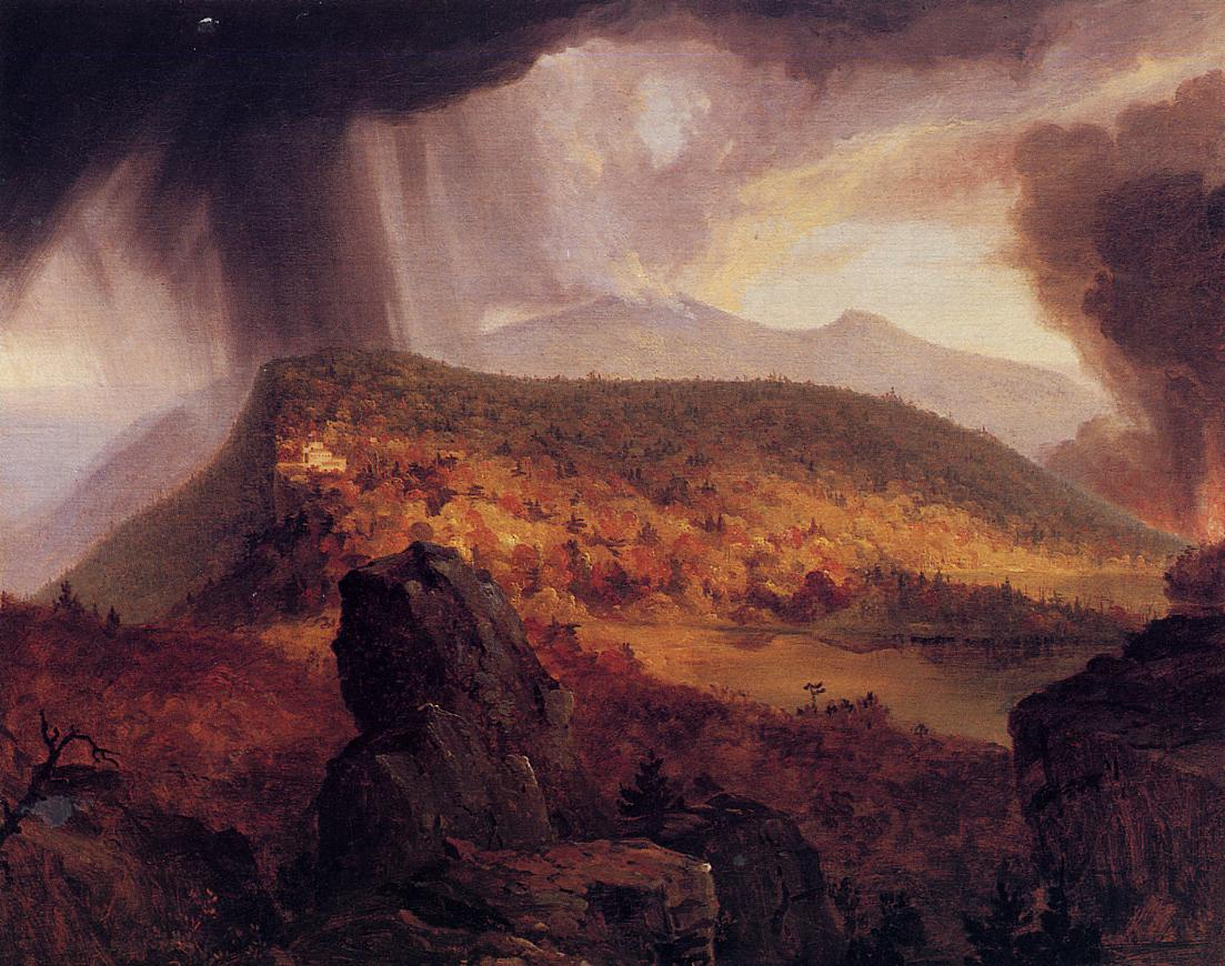 Catskill Mountain House The Four Elements 1833-1834 | Thomas Cole | Oil Painting