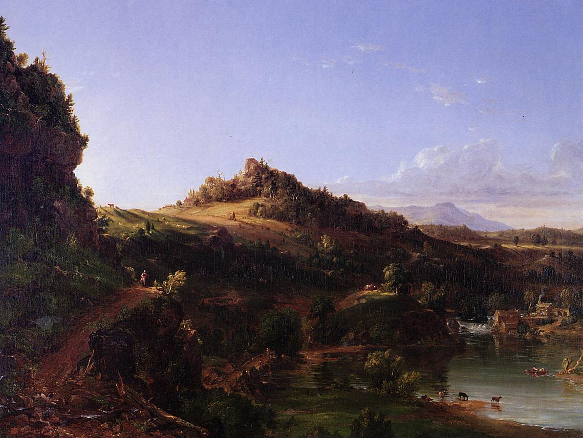 Catskill Scenery 1833 | Thomas Cole | Oil Painting