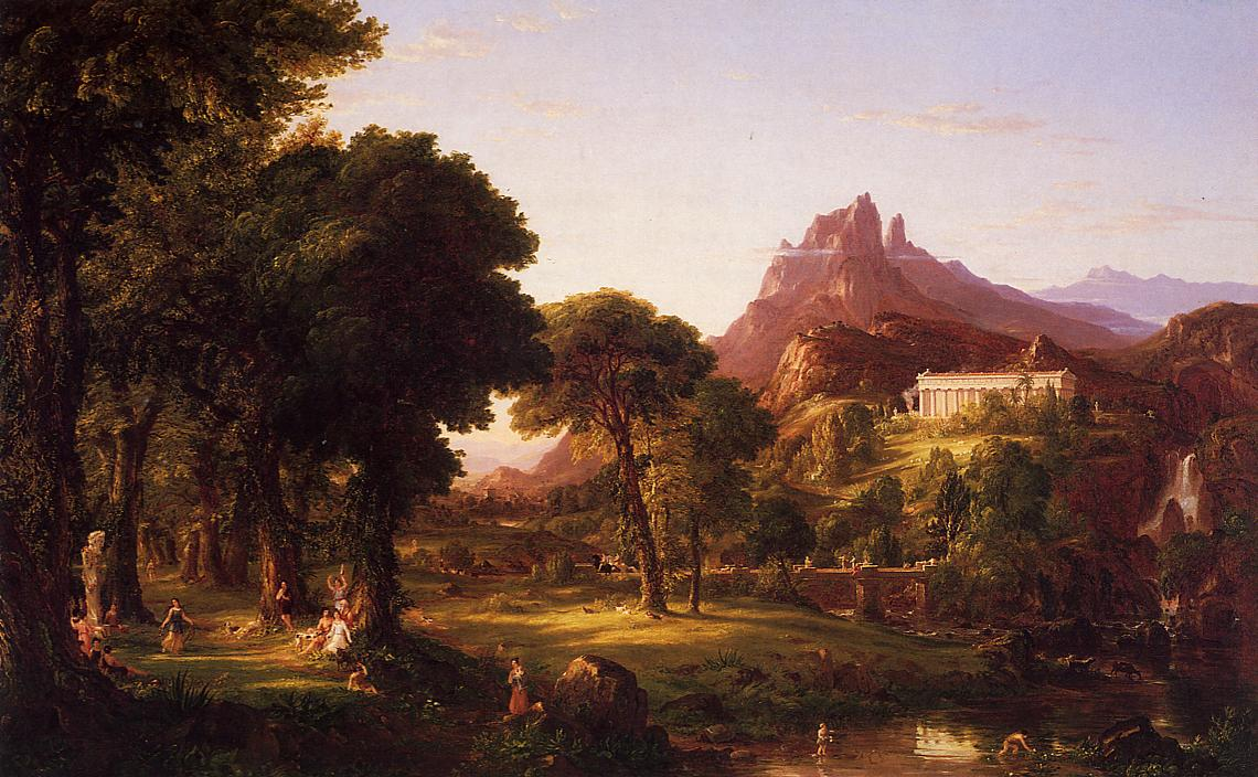 Dream of Arcadia 1838 | Thomas Cole | Oil Painting