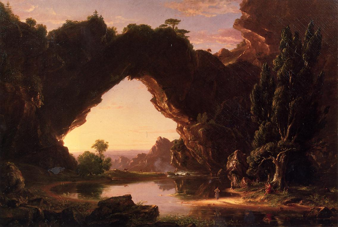 Evening in Arcadia 1843 | Thomas Cole | Oil Painting