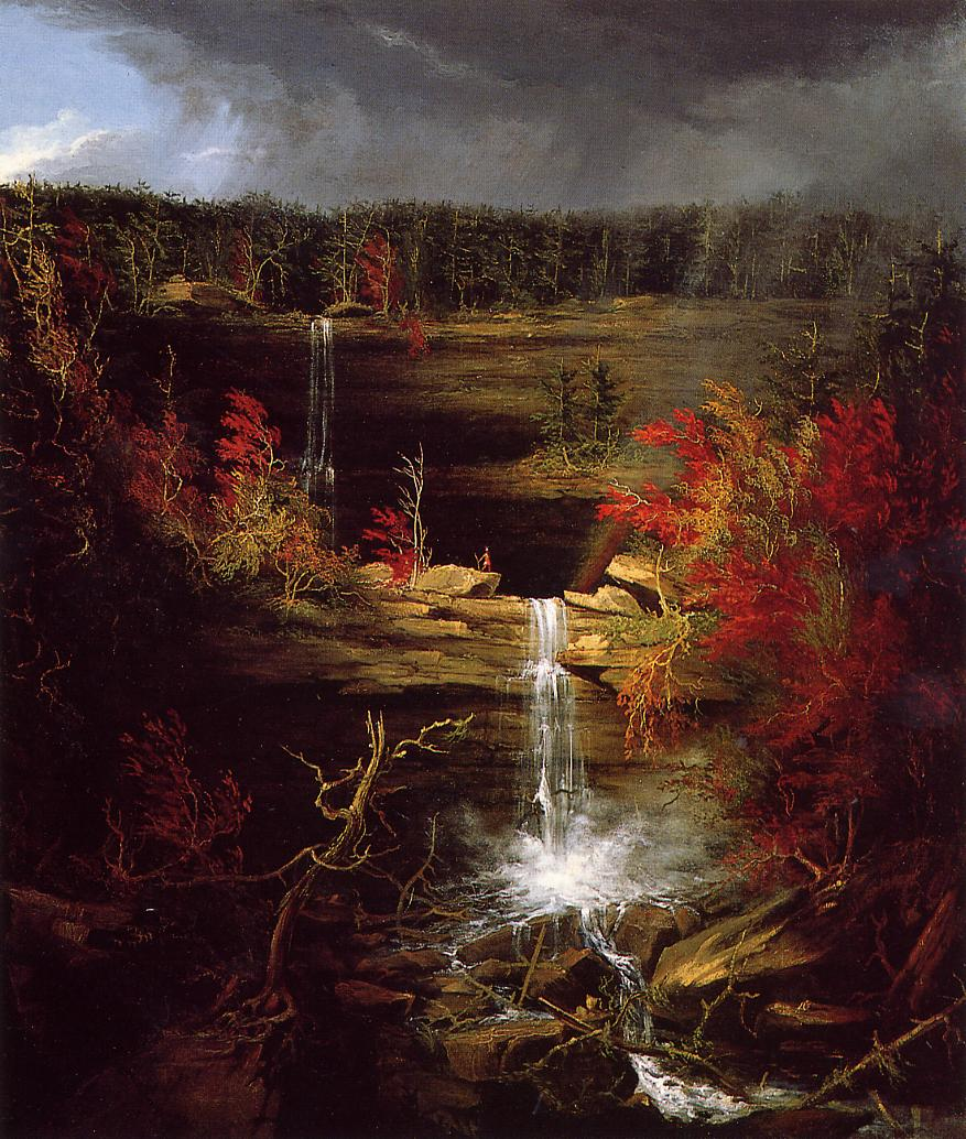 Falls of Kaaterskill 1826 | Thomas Cole | Oil Painting