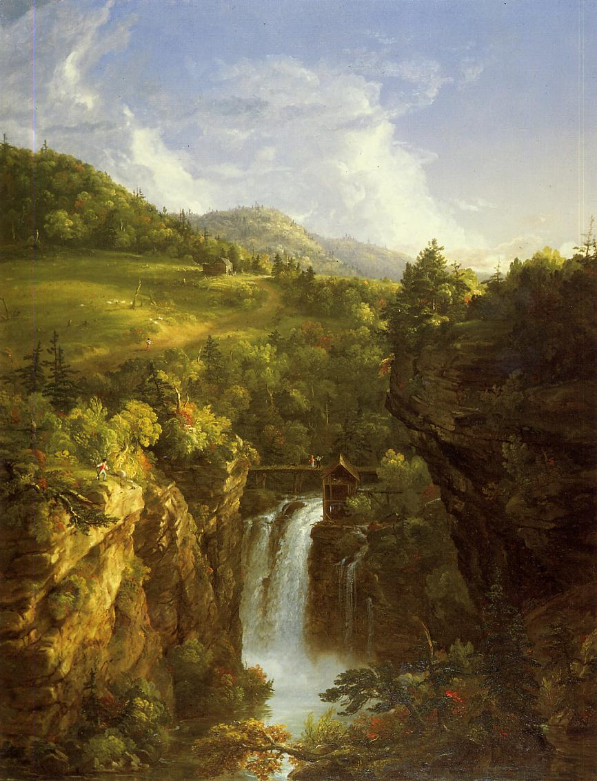 Genesee Scenery 1847 | Thomas Cole | Oil Painting