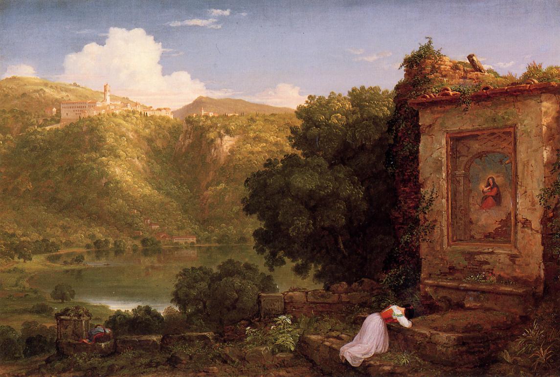 Il Pensaro 1845 | Thomas Cole | Oil Painting