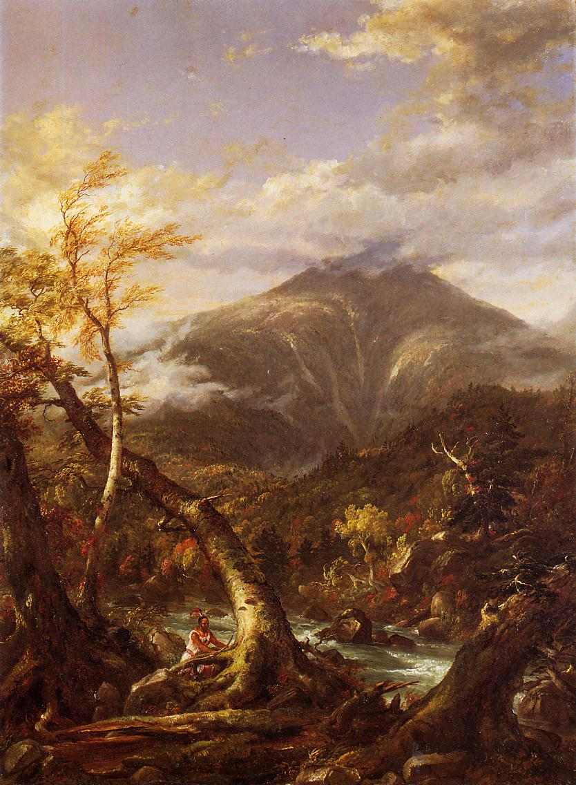 Indian Pass Tahawus 1847 | Thomas Cole | Oil Painting
