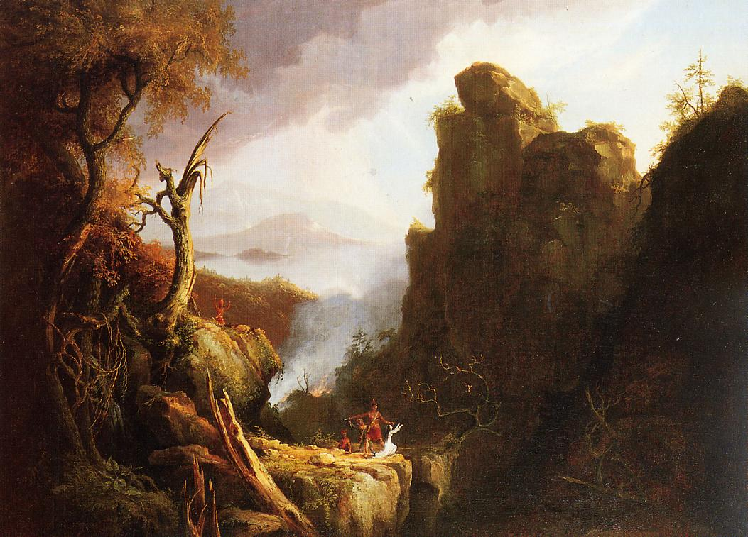Indian Sacrifice 1827 | Thomas Cole | Oil Painting