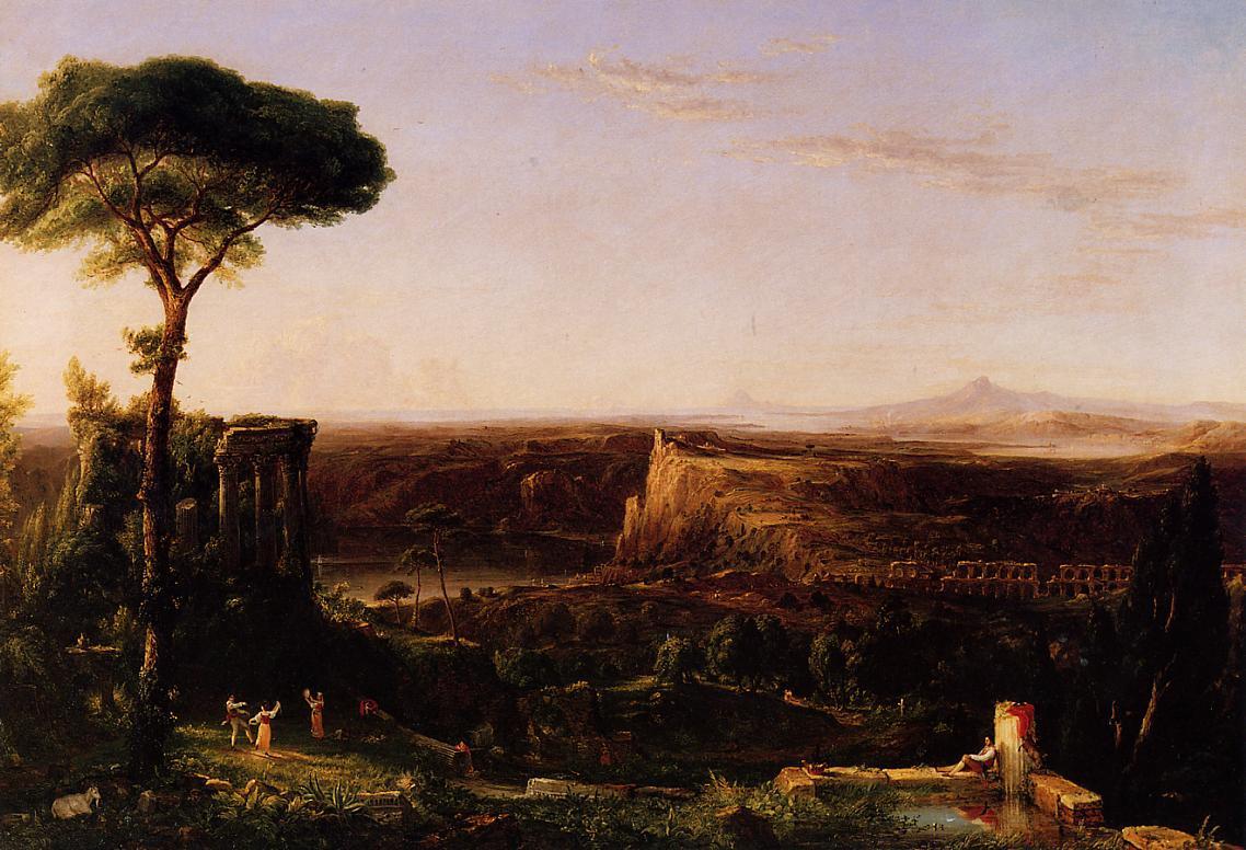 Italian Scene Composition 1833 | Thomas Cole | Oil Painting