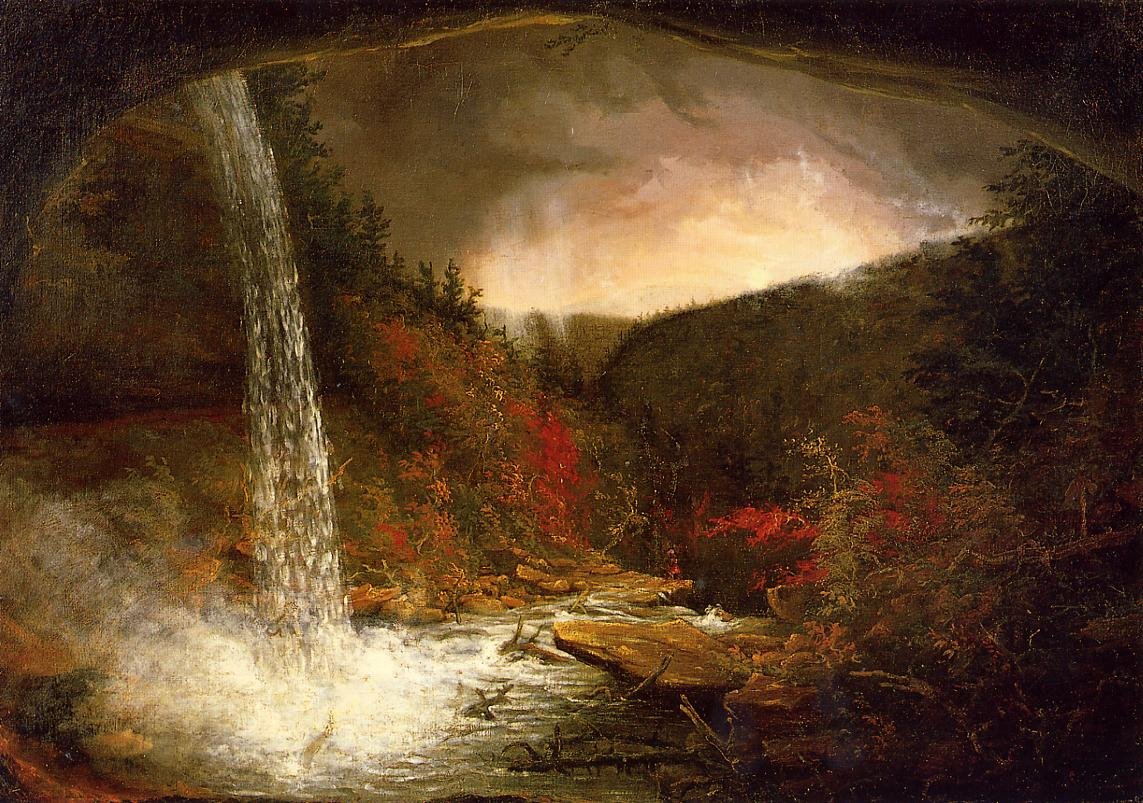 Kaaterskill Falls 1826 | Thomas Cole | Oil Painting