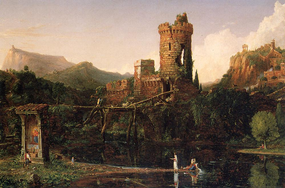 Landscape Composition Italian Scenery 1831-1832 | Thomas Cole | Oil Painting
