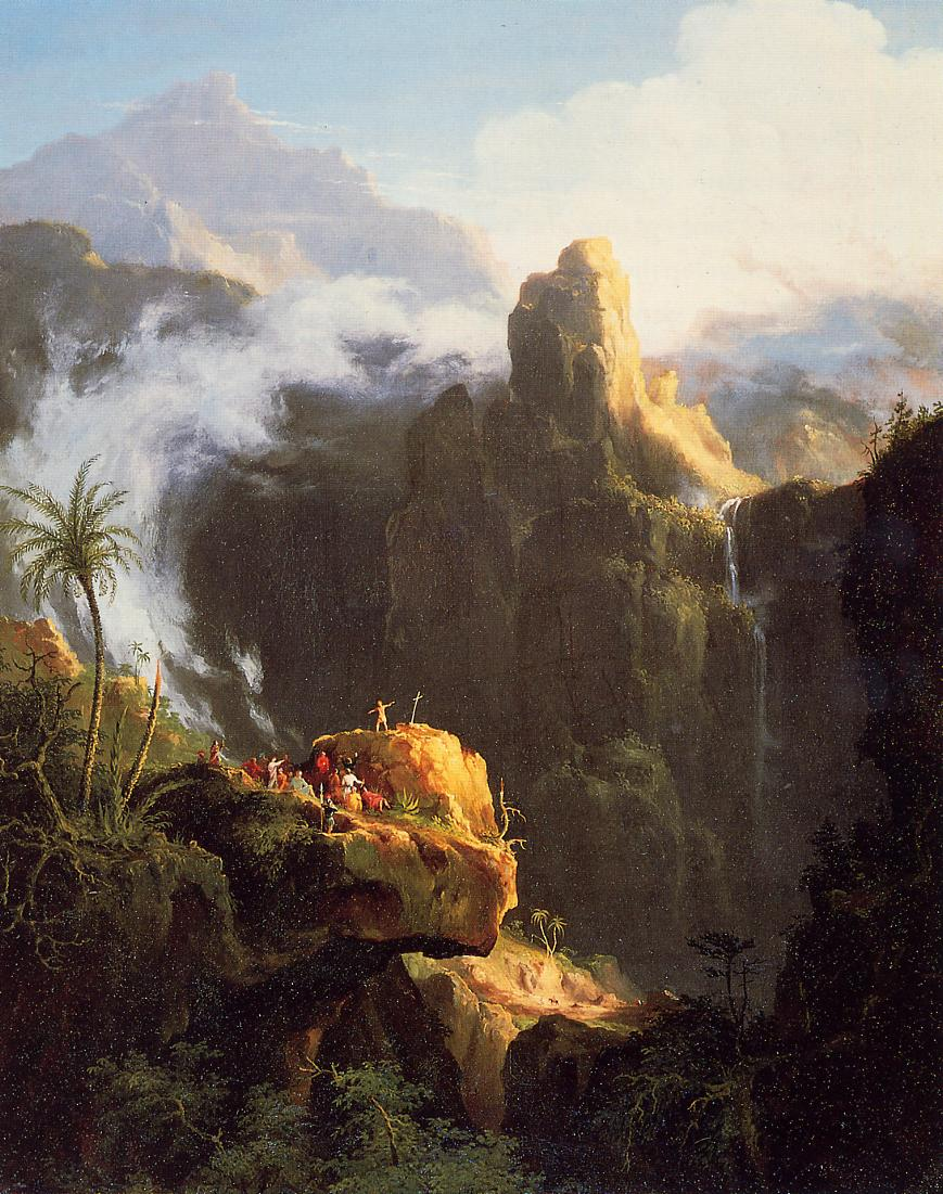Landscape Composition Saint John in the Wilderness 1827 | Thomas Cole | Oil Painting