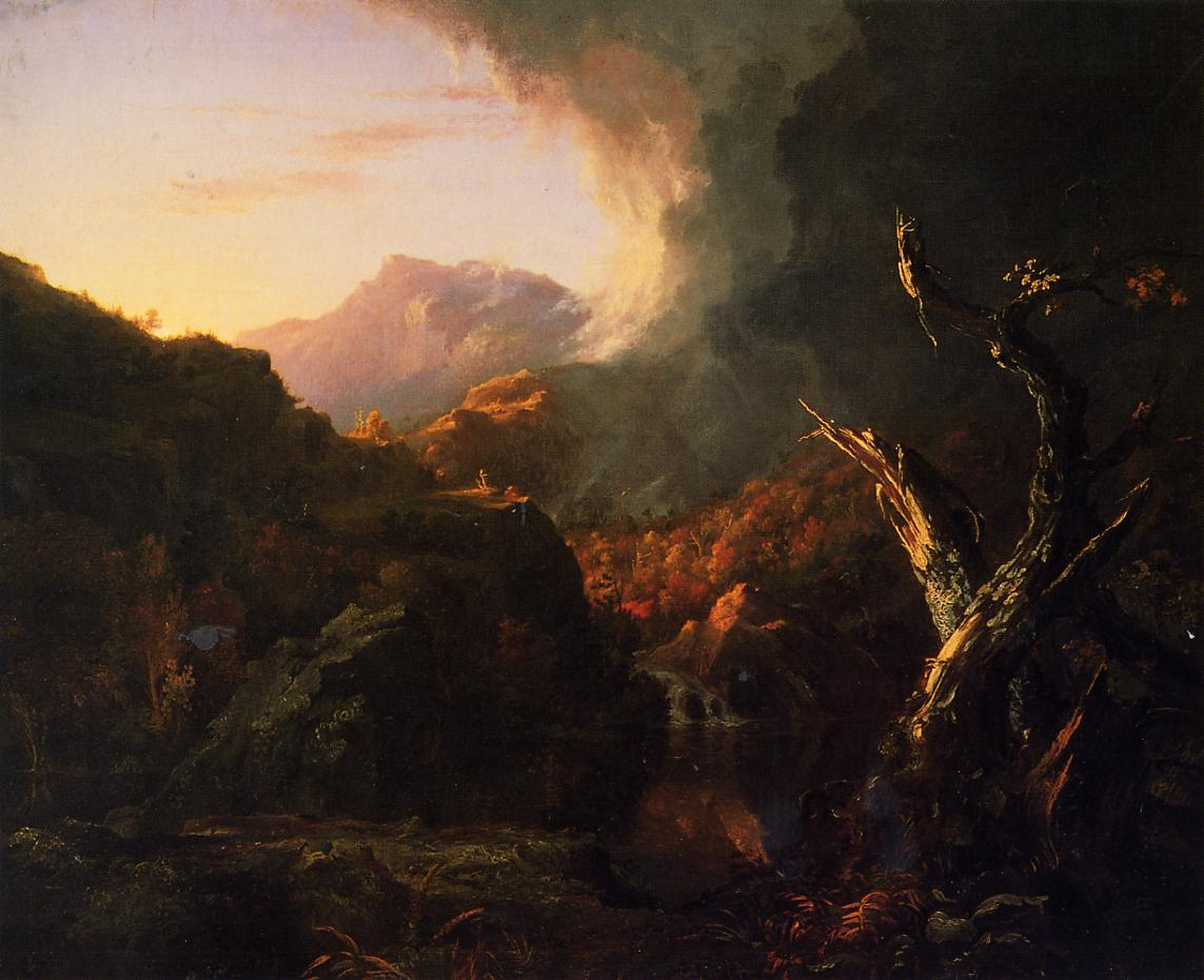 Landscape with Dead Trees 1827 | Thomas Cole | Oil Painting