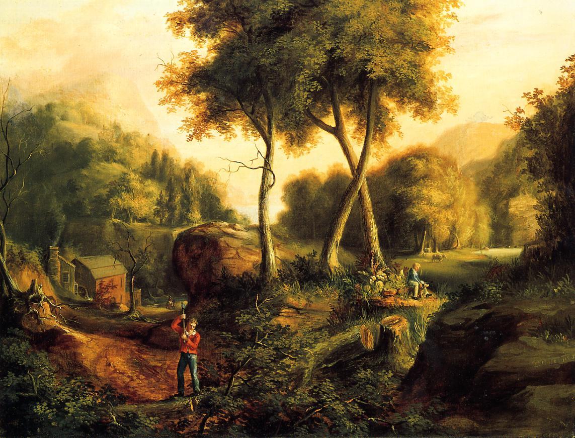 Landscape 1825 | Thomas Cole | Oil Painting