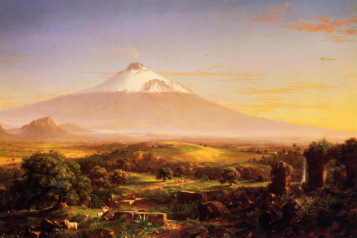 Mount Etna 1842 | Thomas Cole | Oil Painting