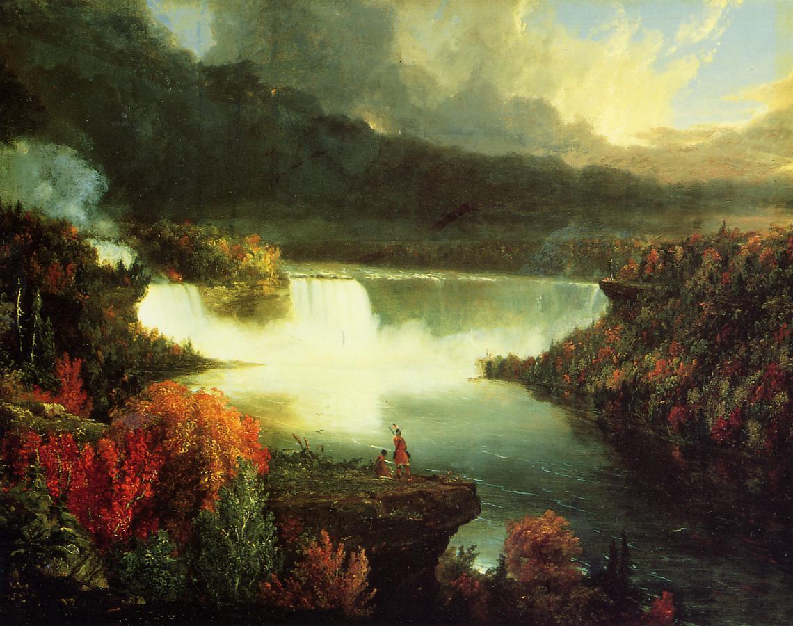 Niagara Falls 1830 | Thomas Cole | Oil Painting