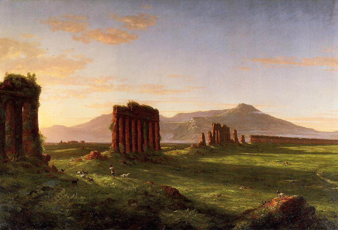 Roman Campagna 1843 | Thomas Cole | Oil Painting