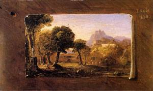 Study for Dream of Arcadia 1838 | Thomas Cole | Oil Painting