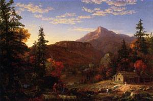 The Hunters Return 1845 | Thomas Cole | Oil Painting