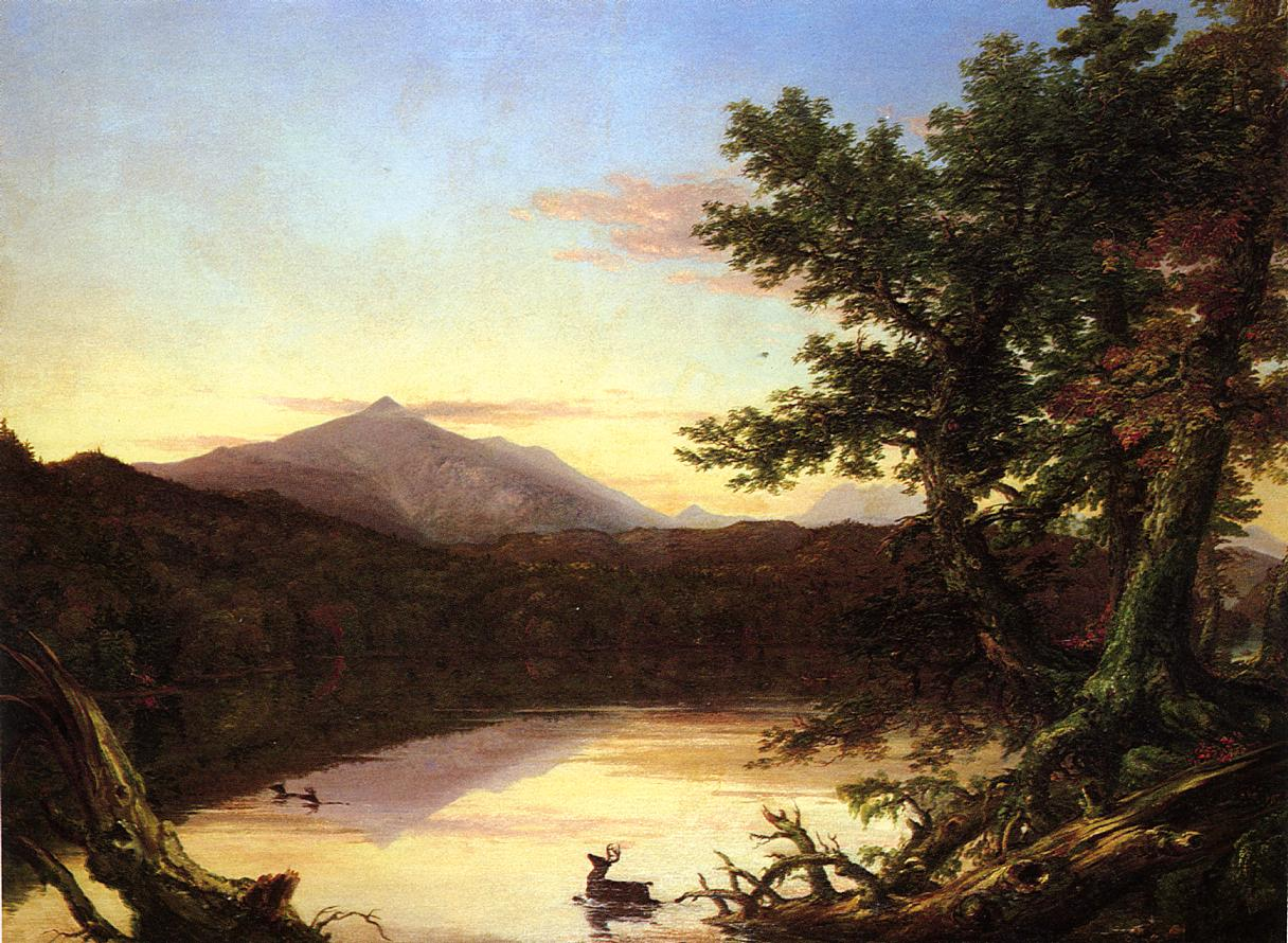 Schroon Lake 1838-1840 | Thomas Cole | Oil Painting