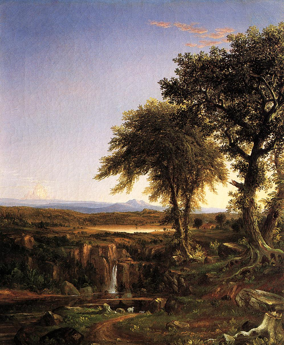 Summer Twilight | Thomas Cole | Oil Painting