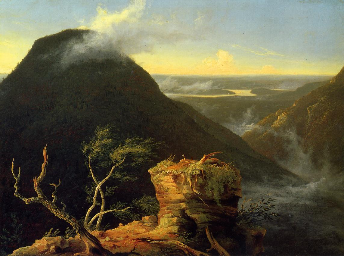 Sunny Morning on the Hudson River 1827 | Thomas Cole | Oil Painting