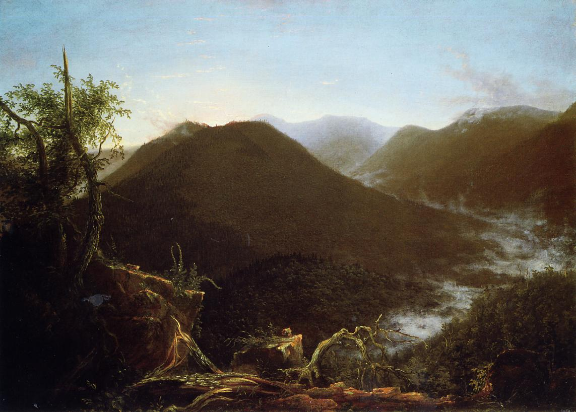 Sunrise in the Catskill Mountains 1826 | Thomas Cole | Oil Painting