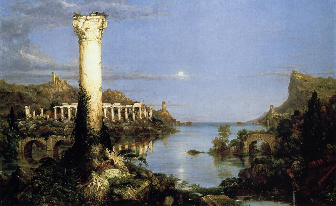 The Course of Empire Desloation 1836 | Thomas Cole | Oil Painting