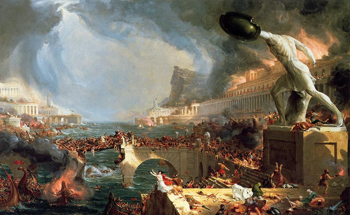 The Course of Empire Destruction 1836 | Thomas Cole | Oil Painting