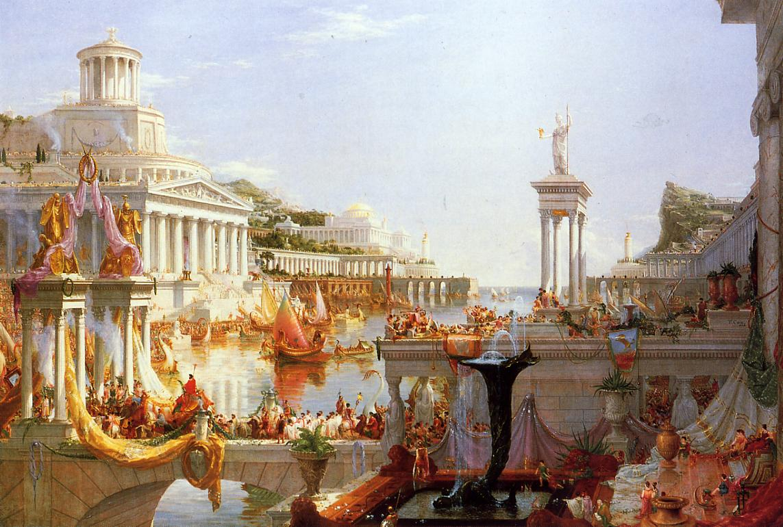 The Course of Empire The Consummation of Empire 1836 | Thomas Cole | Oil Painting