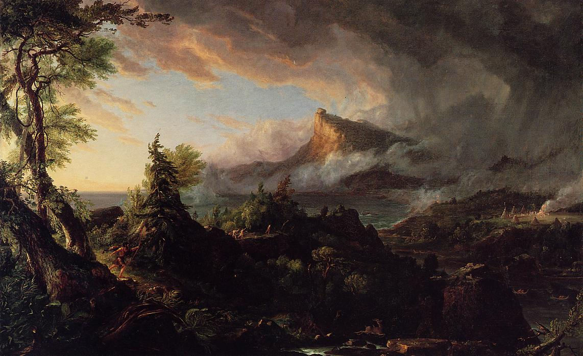 The Course of Empire The Savage State 1836 | Thomas Cole | Oil Painting