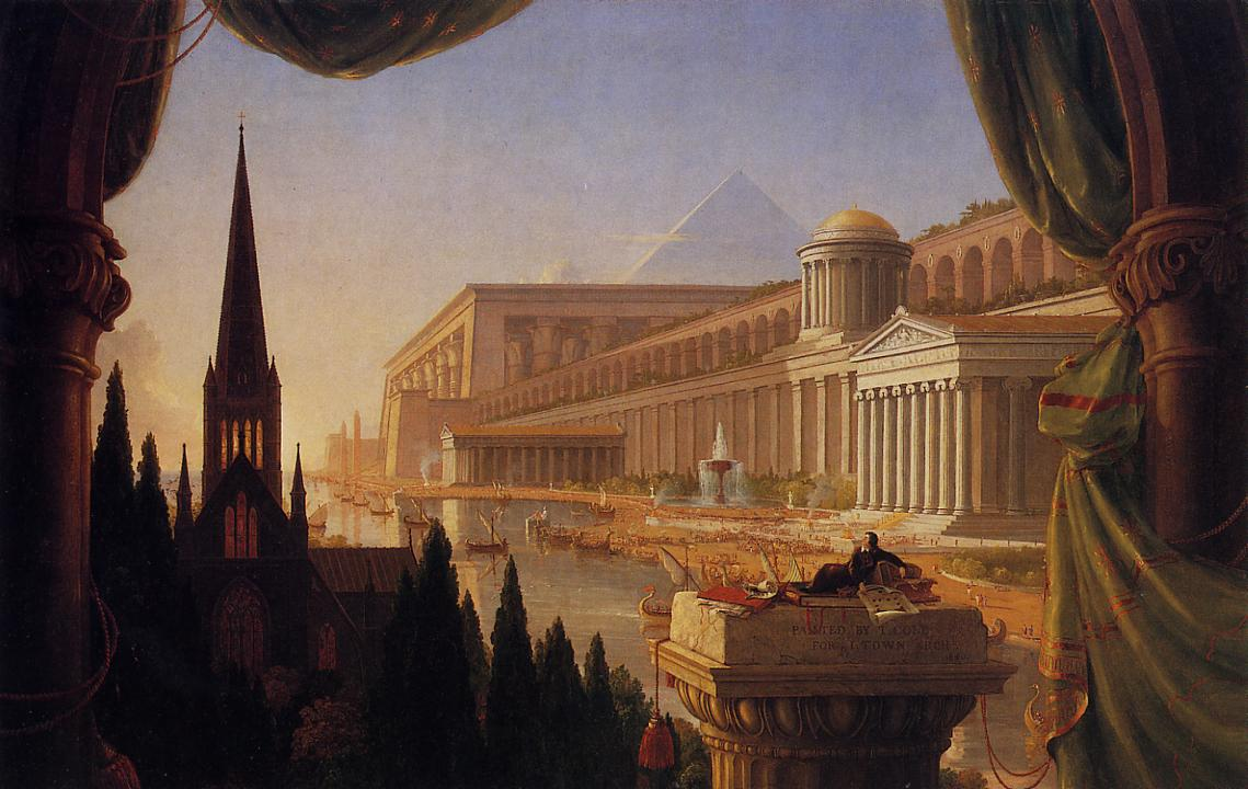 The Architects Dream 1840 | Thomas Cole | Oil Painting