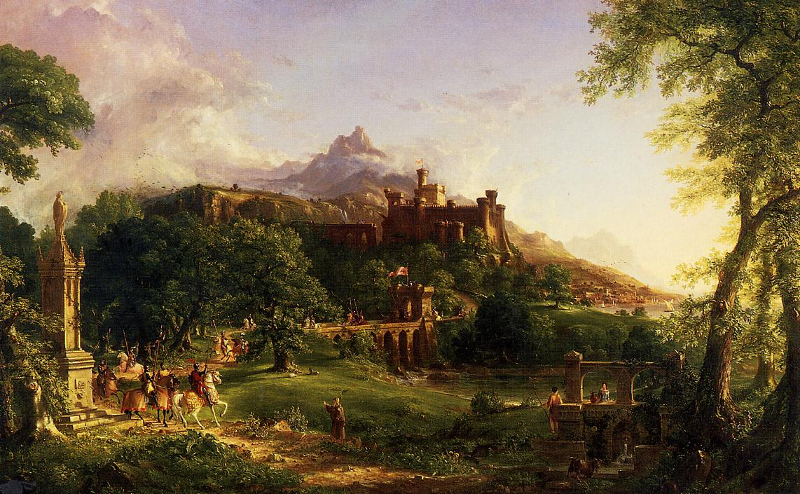 The Departure 1838 | Thomas Cole | Oil Painting