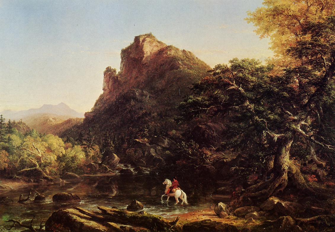 The Mountain Ford 1846 | Thomas Cole | Oil Painting
