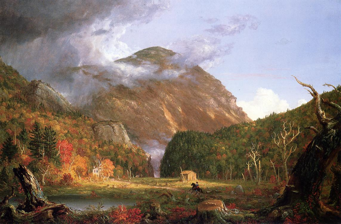 The Notch of the White Mountains (aka Crawford Notch) 1839 | Thomas Cole | Oil Painting