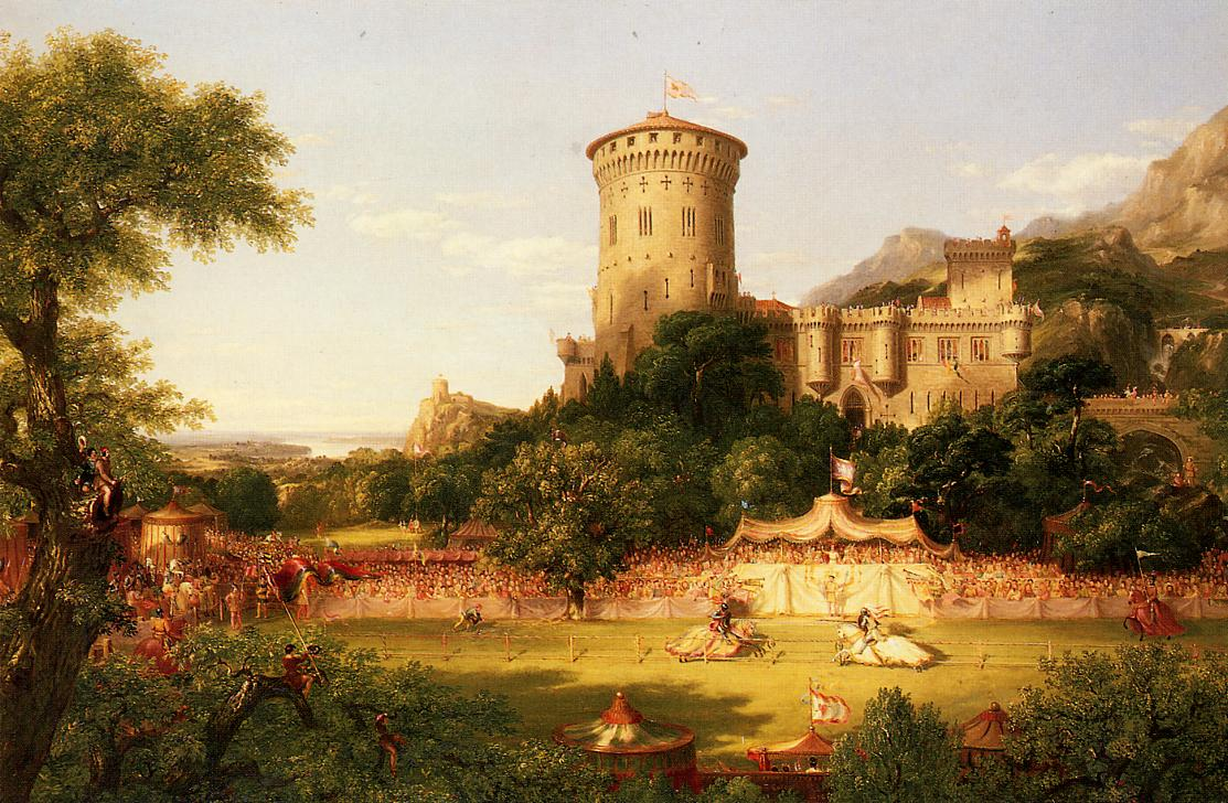 The Past 1838 | Thomas Cole | Oil Painting