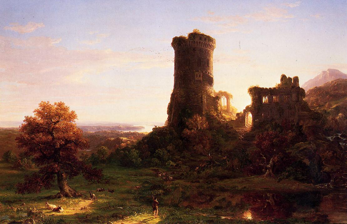 The Present 1838 | Thomas Cole | Oil Painting