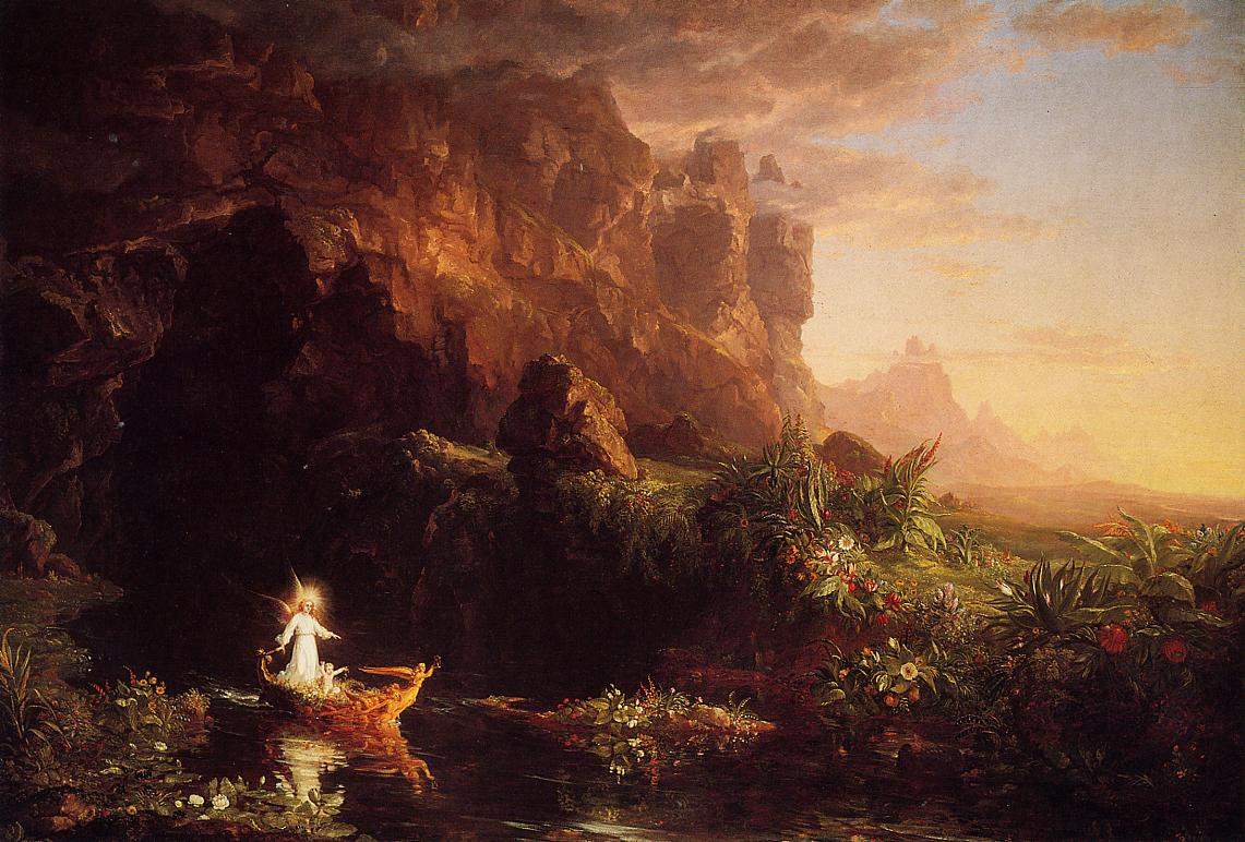 The Voyage of Life Childhood 1842 | Thomas Cole | Oil Painting