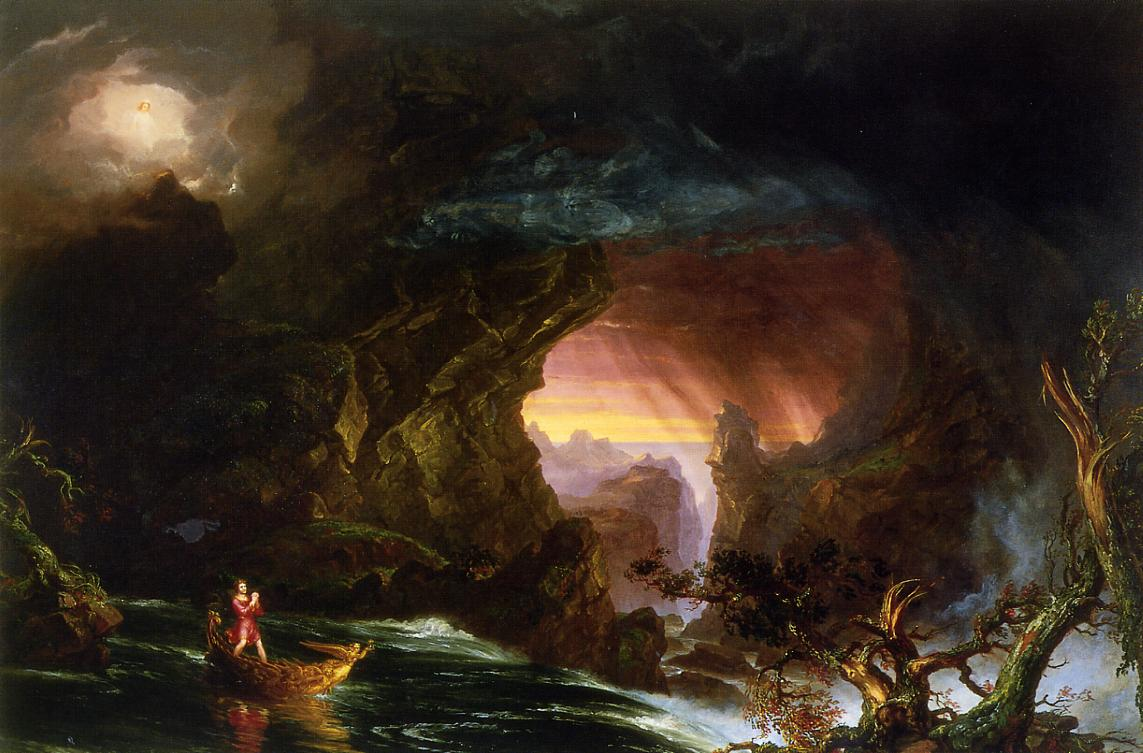 The Voyage of Life Manhood 1840 | Thomas Cole | Oil Painting