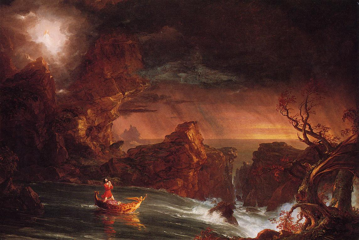 The Voyage of Life Manhood 1842 | Thomas Cole | Oil Painting