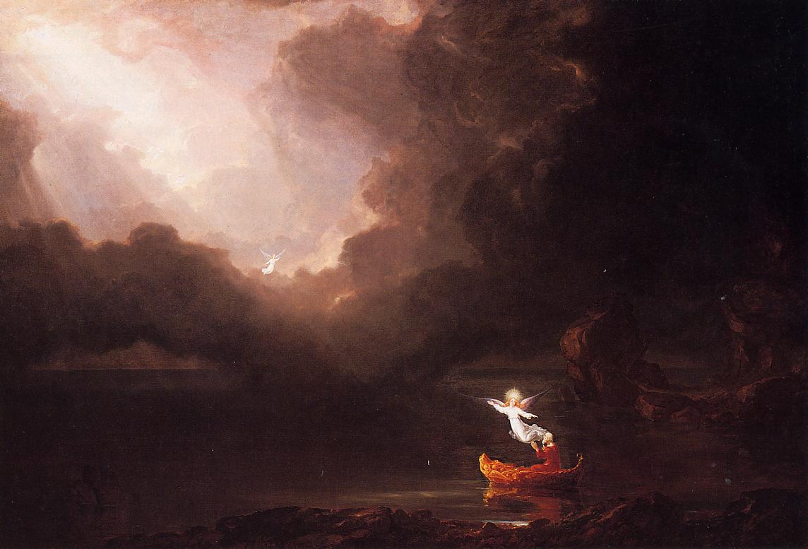 The Voyage of Life Old Age 1842 | Thomas Cole | Oil Painting