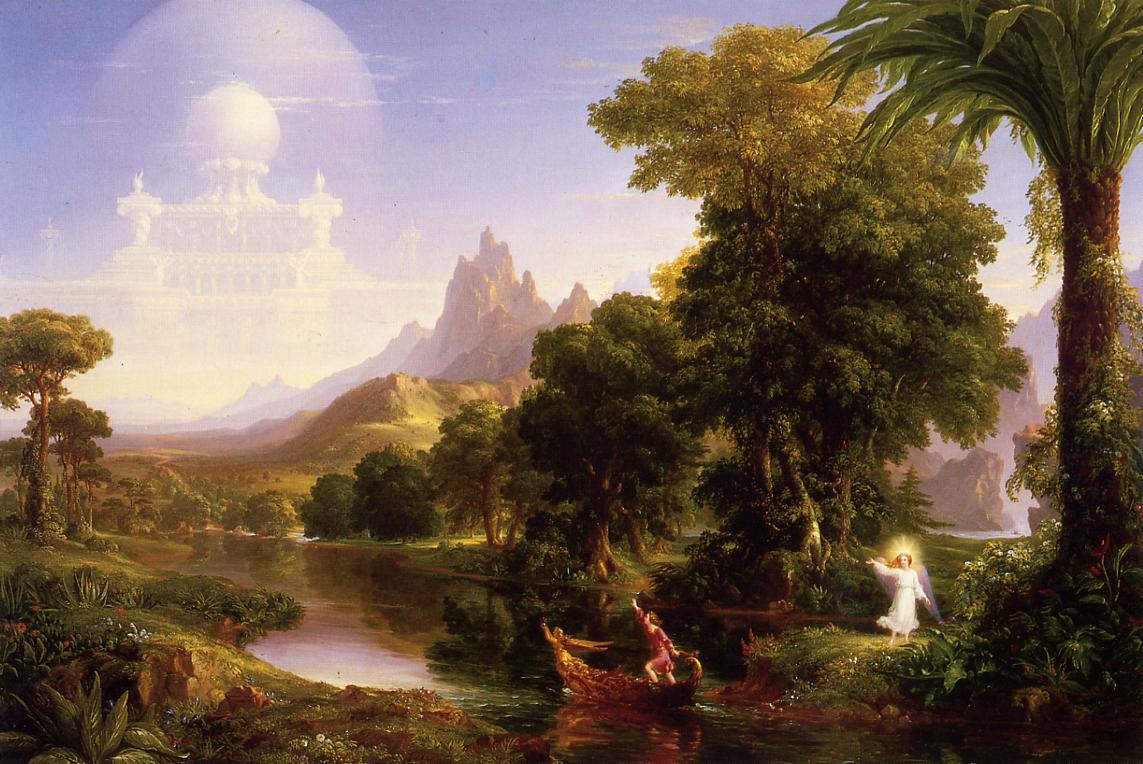 The Voyage of Life Youth 1840 | Thomas Cole | Oil Painting