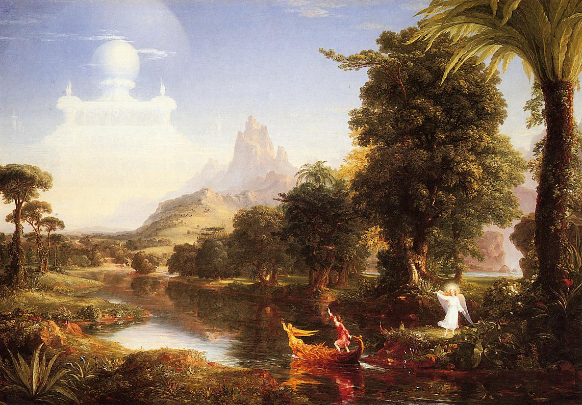 The Voyage of Life Youth 1842 | Thomas Cole | Oil Painting