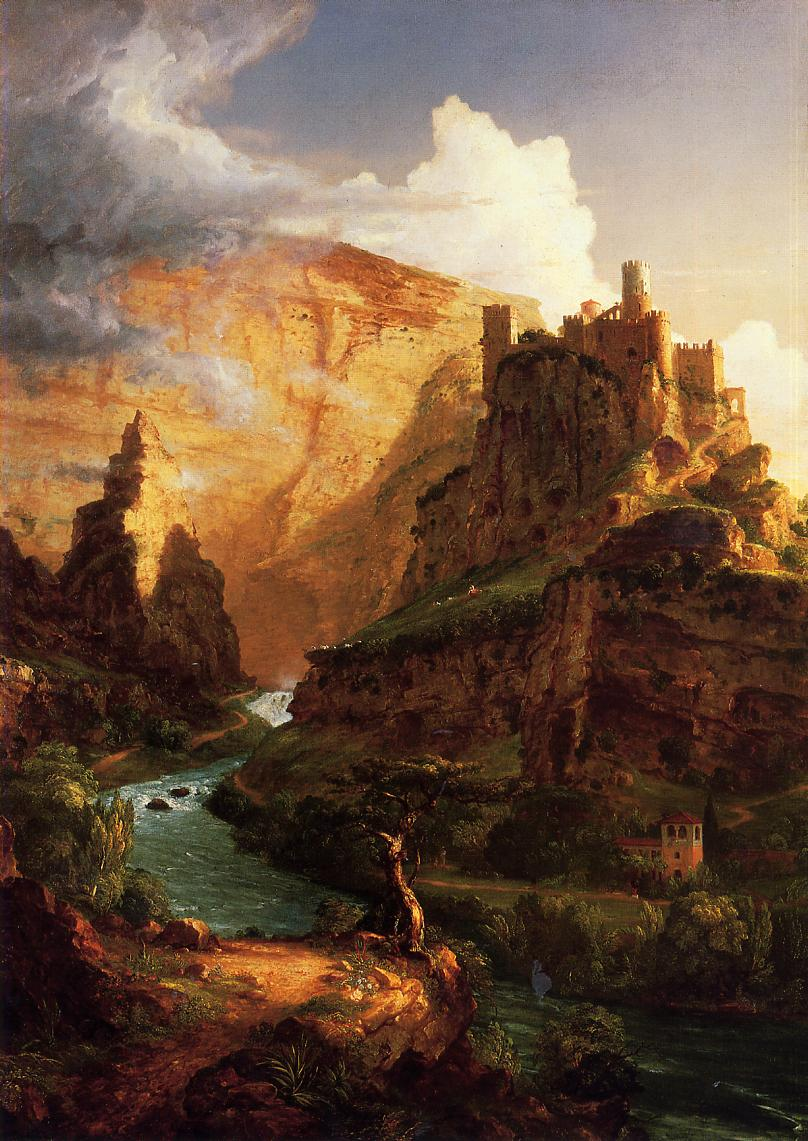 Valley of the Vaucluse 1841 | Thomas Cole | Oil Painting