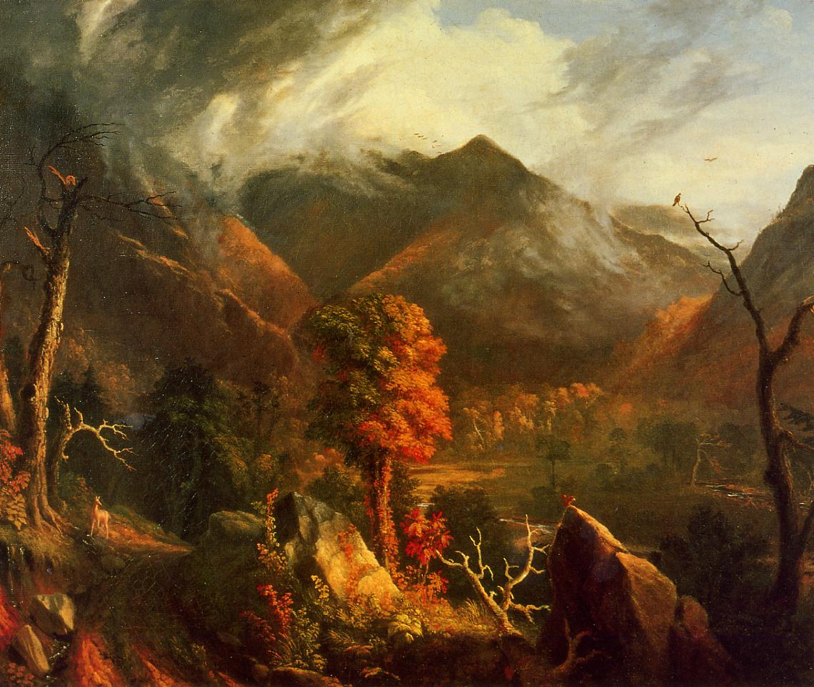 View in the White Mountains 1827 | Thomas Cole | Oil Painting