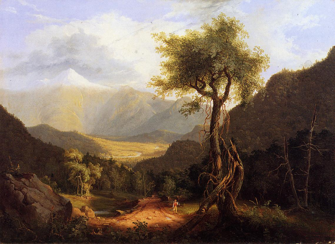 View in the White Mountains 1827 001 | Thomas Cole | Oil Painting