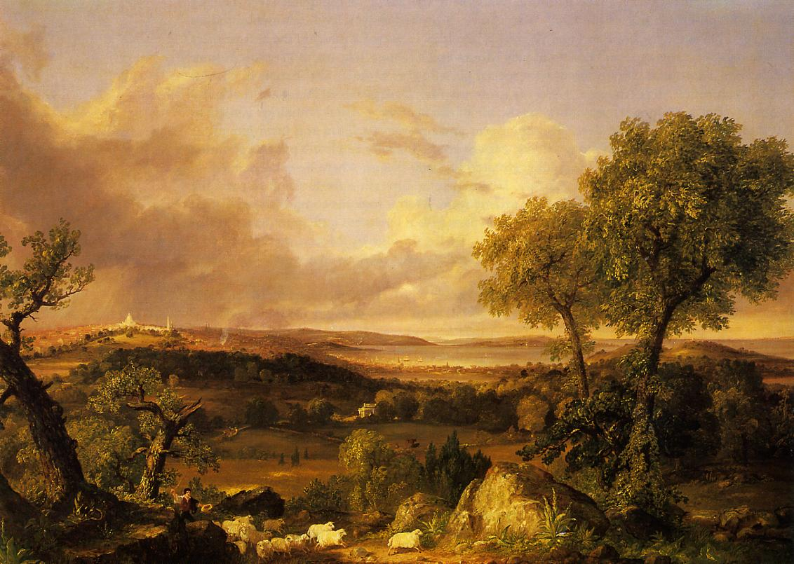 View of Boston | Thomas Cole | Oil Painting