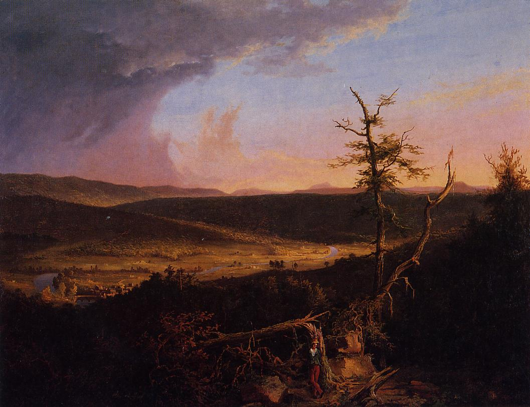 View on the Schoharie 1826 | Thomas Cole | Oil Painting