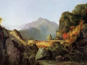 Landscape Scene from The Last of the Mohicans 1827 | Thomas Cole | Oil Painting